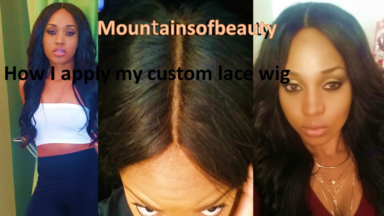 how to make lace closure look natural without bleaching