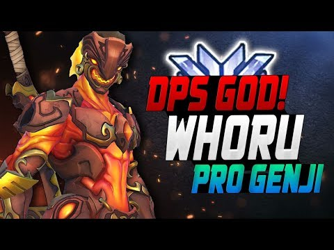 WHORU is a Genji God - KOREAN DPS! [ OVERWATCH SEASON 11 TOP 500 ] thumbnail