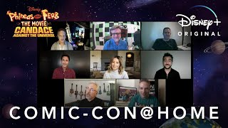 Comic-Con@Home | Phineas and Ferb The Movie: Candace Against the Universe | Disney+