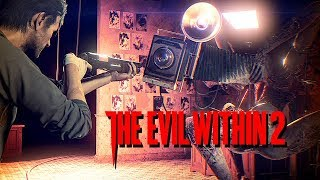 The Evil Within 2 Gameplay German #11 - Boss Fight Obscura