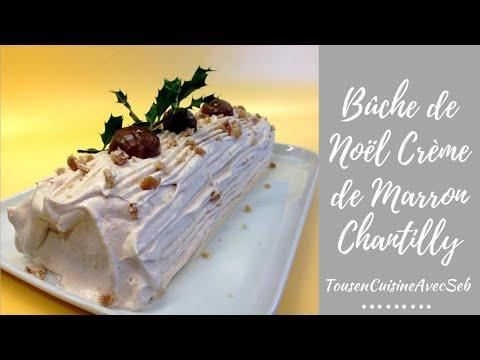 bûche-de-noël-crème-de-marron-chantilly-(tousencuisineavecseb)