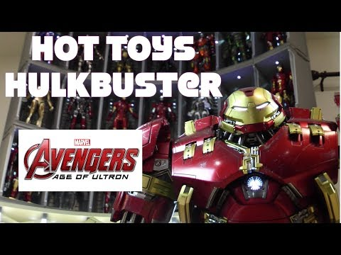 Hot Toys 1/6 scale Age Of Ultron Hulkbuster MMS285 Mark 44 unboxing review Danoby2🤩