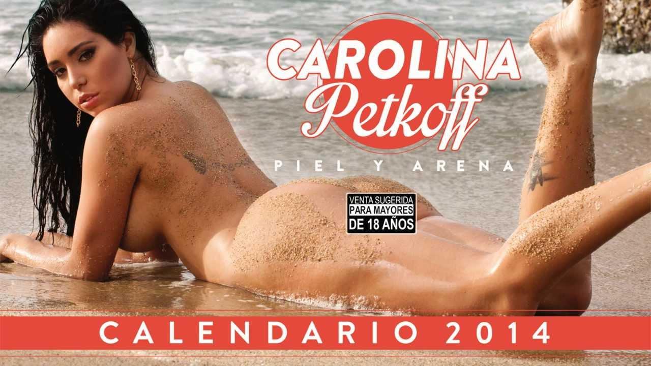 Carolina Petkoff Piel Y Arena Calendario 2014 By Joel Vasquez Nacache
