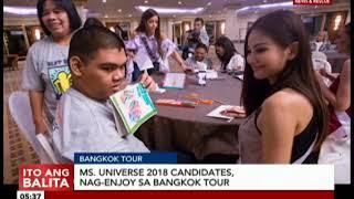 Miss Universe 2018 candidates, nag-enjoy sa Bangkok tour