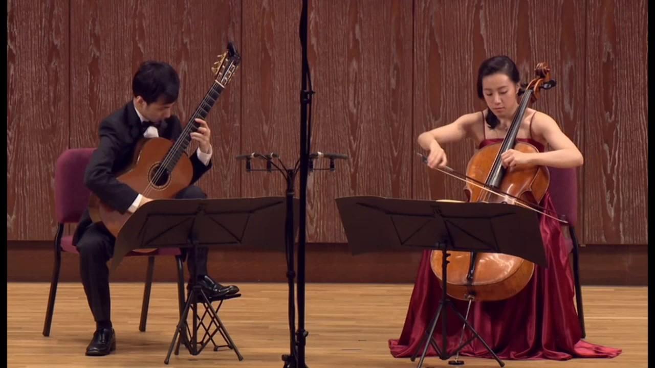 Joaquin Nin - Suite Espagnole pour violoncelle et guitare ...