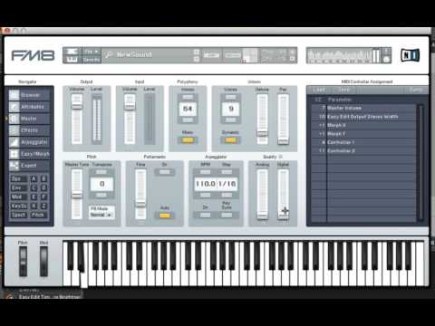 FM8 Hybrid Synthesis Methods Approach