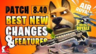 Fortnite Patch 8.40 | Best Changes & NEW Features (Loot Lake Dig Site, Mimic Emotes, New LTM's)