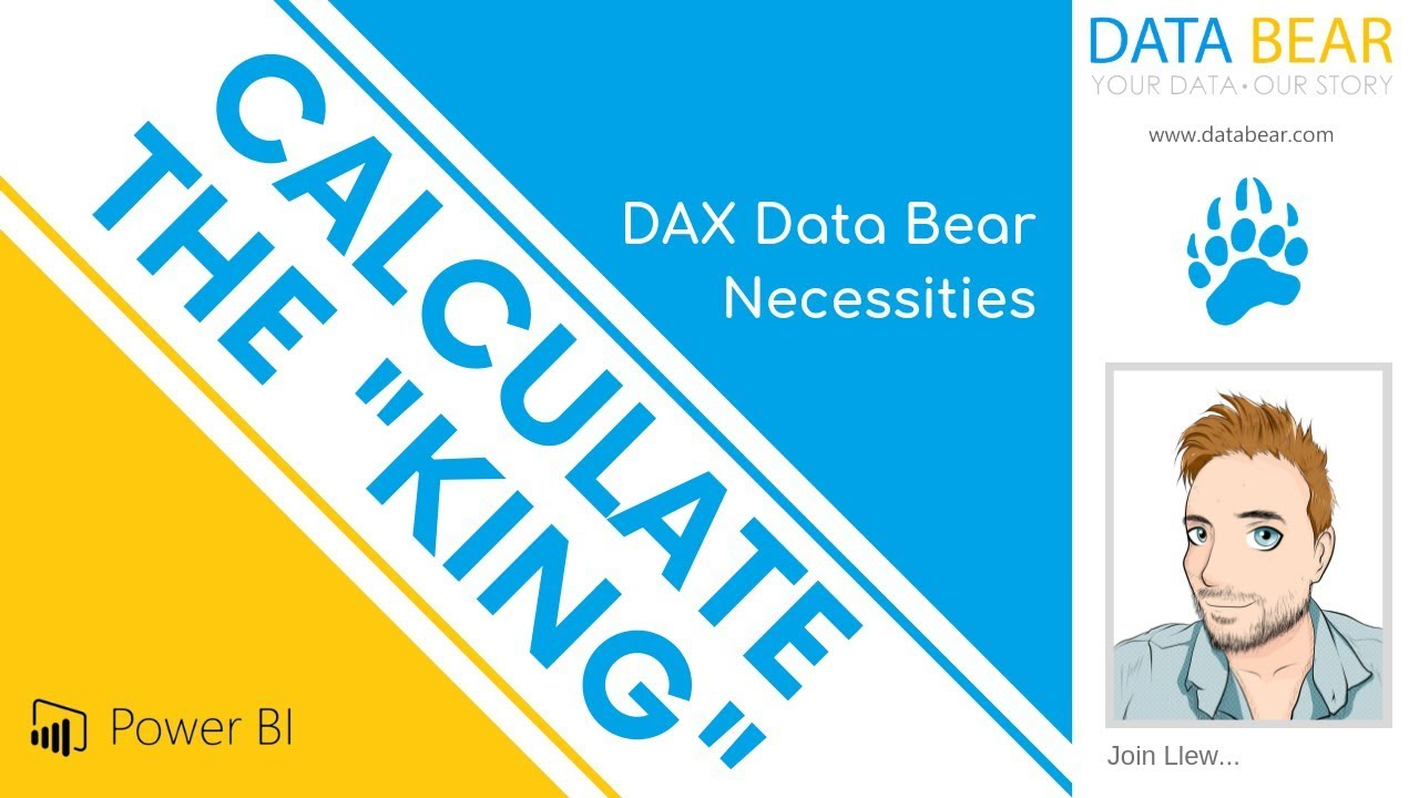 DAX CALCULATE (The KING) OF ALL!! - Data Bear - Power BI
