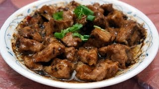 香港食譜:豉汁蒸排骨
