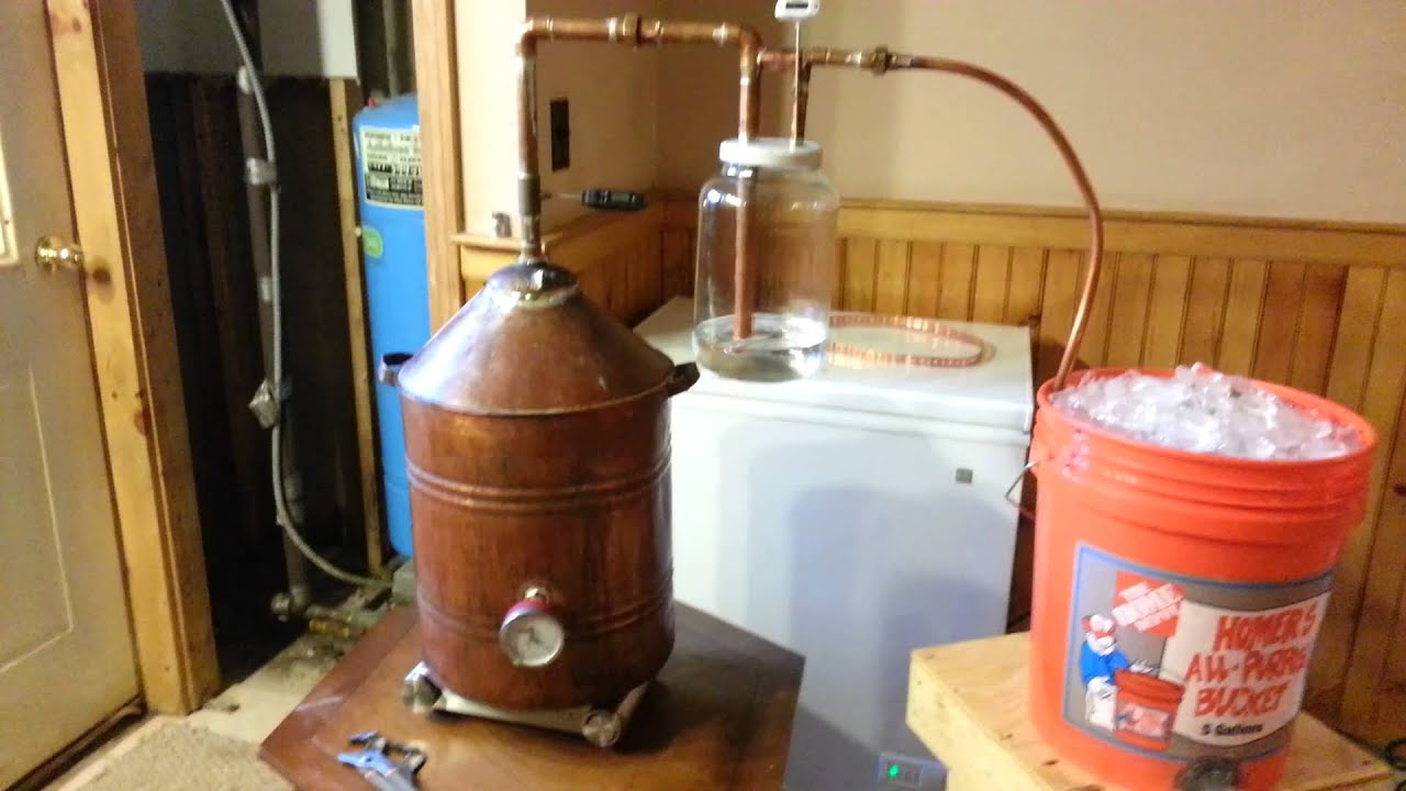 Simple Moonshine Still Diagram
