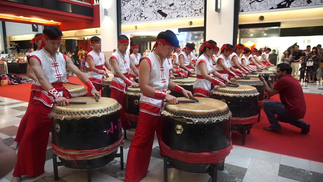 Chinese New Year Drums Performance 2016 - YouTube
