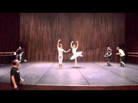 Rehearsal Don Quixote -Xiomara Reyes & Angelo Greco.(OWPD PRIX)