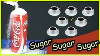 How much sugar in a can of Coke ( coca-cola )