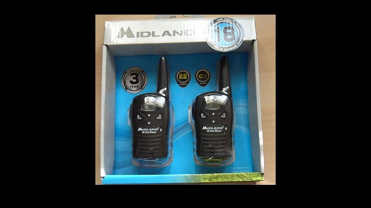 Midland Lxt410 2 Way Radios Owners Manual