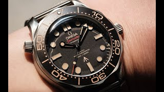 The Omega Seamaster Diver 300M 007 'No Time to Die'!: Every Single Thing You Need to Know About It