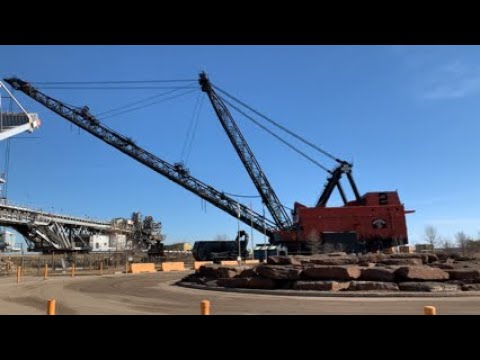 Fort McMurray Alberta Canada (Spring  2019  Syncrude's Giants Of Mining)