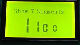 JP Serial 240x128 GLCD Display (T6963C) Module Function Test