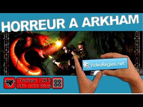 """vidéorègle-jeu-de-société-""""-horreur-a-arkham-""""-par-yahndrev-(#284a)-(1ère-partie)-(-sub)"""