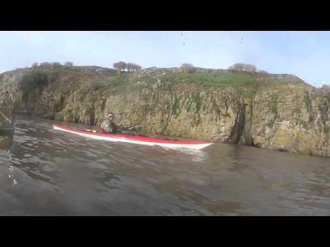 paddling out to Flat Holm Island Saturday 12th 2016
