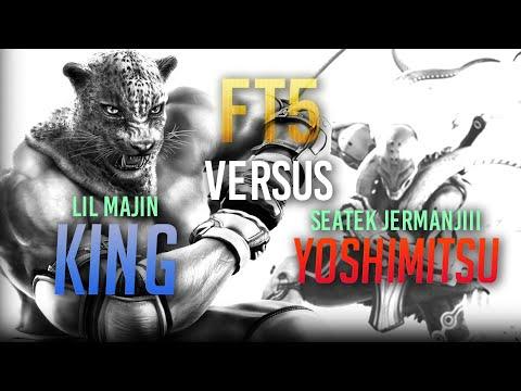 Lil Majin vs Seatek_Jermanjii! King vs Yoshimitsu!
