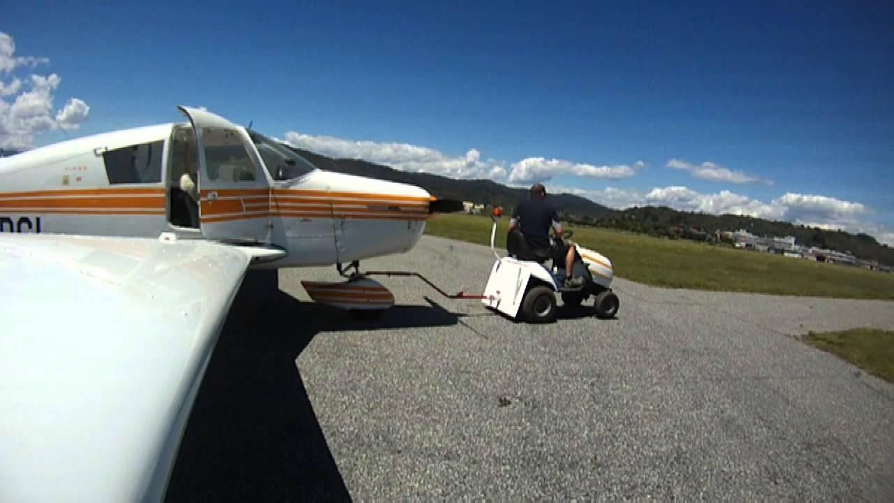 Lawn Mower Aircraft Tug