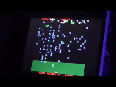 Millipede on the Arcade1Up Atari Legacy from phillychick