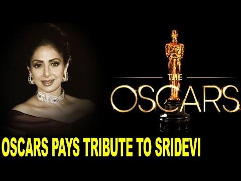 Sridevi honoured at Oscars 2018