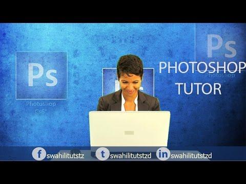 Jinsi ya Kuedit background ya Picha bila kwenda Studio (Edit Backround Photoshop Tutorial)