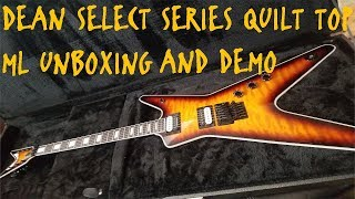DEAN ML SELECT SERIES FLOYD QUILT TOP UNBOXING AND DEMO