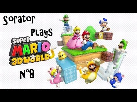 Super Mario 3D World - Episode 8 : Monde Etoile Partie 1 - Gameplay HD (French)