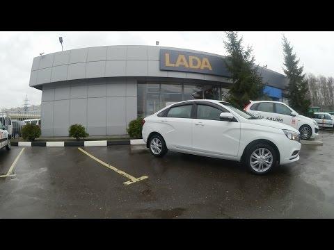 #96 Покупка машины LADA VESTA  22 апреля 2017 в Техинком