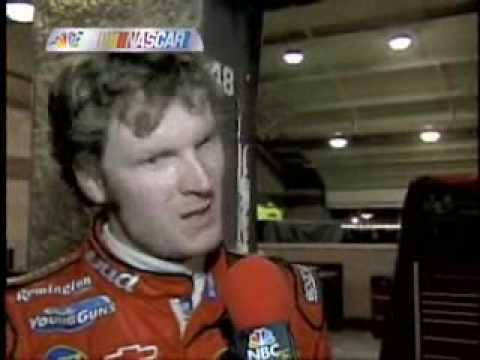2004 Pop Secret 500- Dale Jr. and Ken Schrader crash