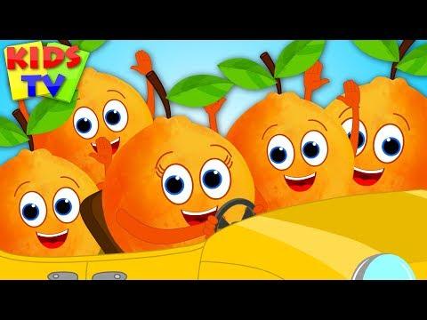 Five Little Oranges | Nursery Rhymes & Songs for Children | Cartoon Videos