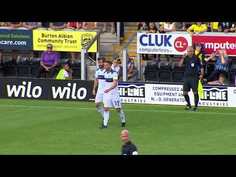 Highlights   Burton Albion 1-2 Rochdale