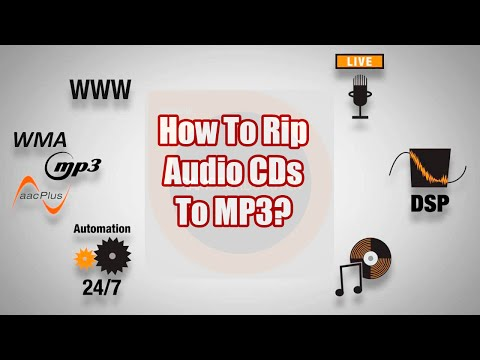 SAM Broadcaster-How To Rip Audio CDs To MP3 - A SAM Broadcaster Tutorial