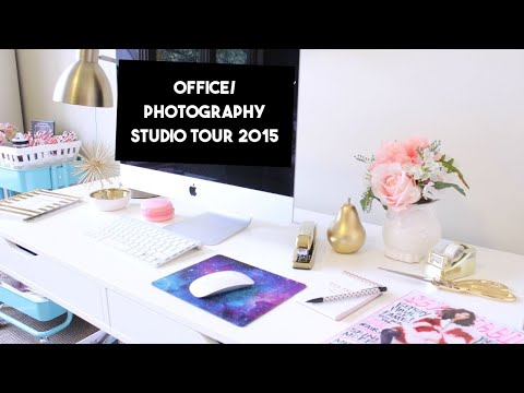 Shabby Chic Office & Photography Studio Tour 2015