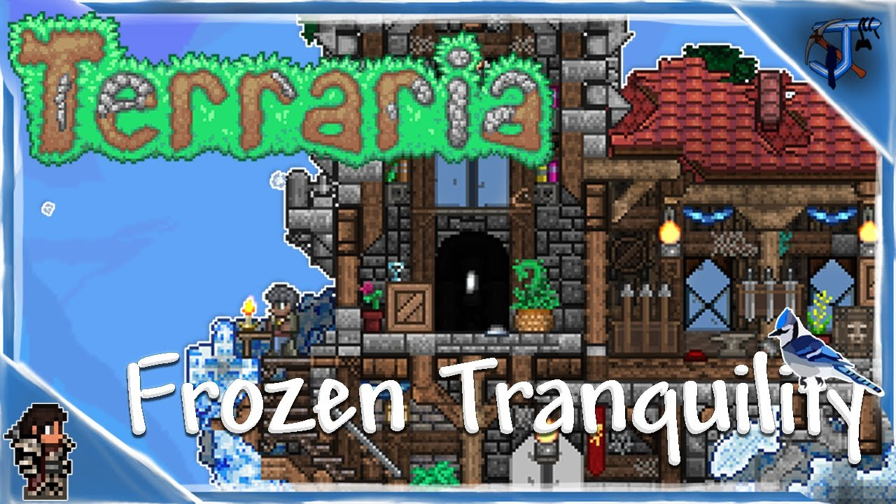 Frozen Tranquility | Terraria Speed Build