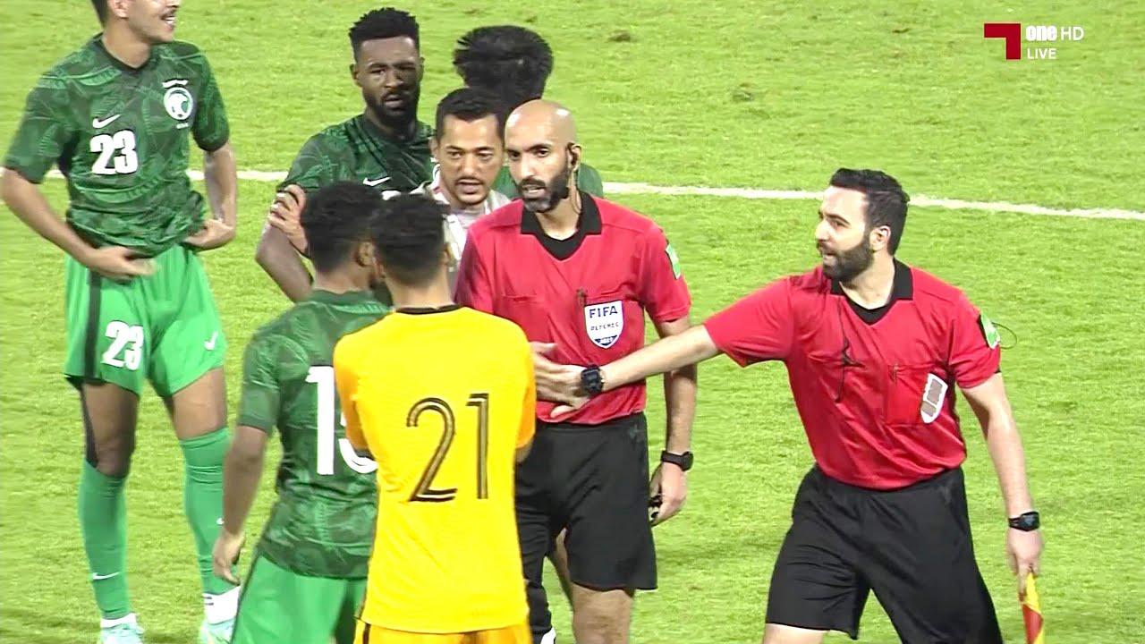 ملخص مباراة السعودية و الأردن