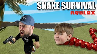 SNAKE SURVIVAL in ROBLOX...