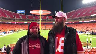 Chiefs/Colts postgame from Arrowhead Stadium