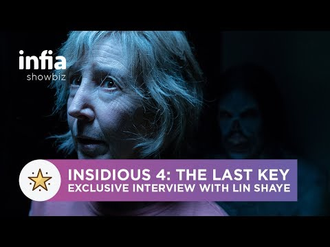 Insidious 4: The Last Key Exclusive  with Lin Shaye