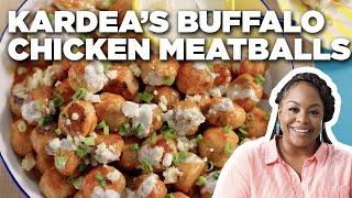 Kardea Brown's Buffalo Chicken Meatballs | Delicious Miss Brown | Food Network