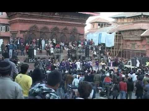 'I am Ncell' Flash Mob