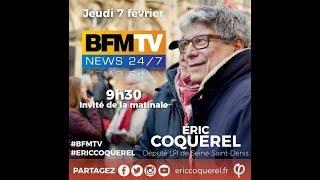 Éric Coquerel député LFI de Seine-Saint-Denis