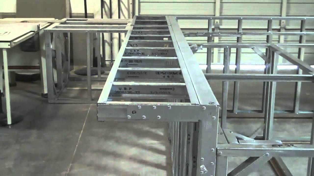 Scottsdale Pre-Fab Outdoor Kitchen Frame by BbqCoach.com - YouTube
