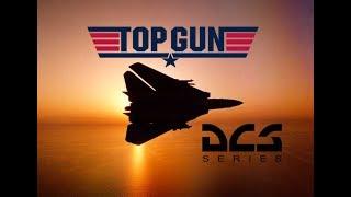 DCS World: F-14 Tomcat Kenny Loggins 'Danger Zone' Top Gun movie Tribute