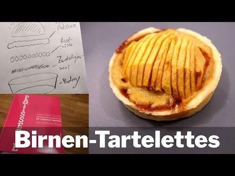 BIRNEN-Tartelettes REZEPT | Tartelettes aux poires