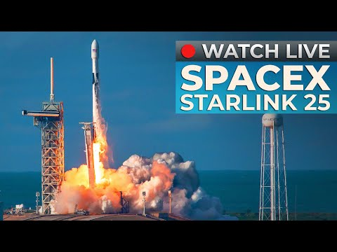WATCH: SpaceX Falcon 9 launch of Starlink 25 mission from LC-39A REPLAY