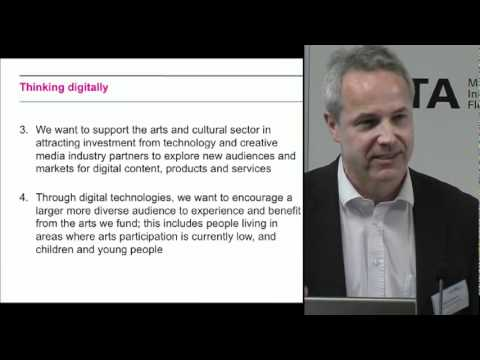 Arts Council introduction to Digital R&D Fund: Digital Day (London)