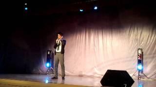 香港布廠商會朱石麟中學2011歌唱比賽初賽  黃俊源